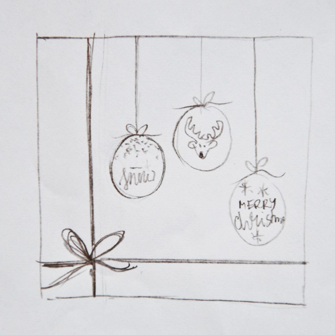 design your own christmas wrapping paper and gift tags