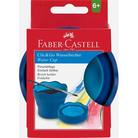 Faber-Castell - Clic&Go water cup, blue