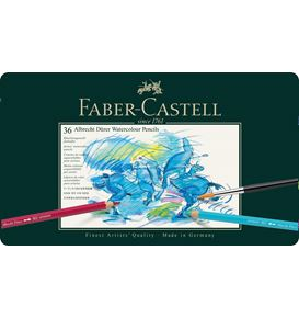 Faber-Castell - Albrecht Dürer watercolour pencil, tin of 36