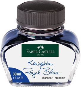 Faber-Castell - Ink glass blue erasable 30 ml