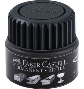 Faber-Castell - Refill Grip Permanent 1505 black