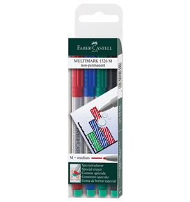Faber-Castell - Marker Multimark non-permanent M wallet of 4