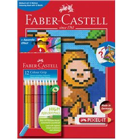 Faber-Castell - Colouring set Pixel-it, 13 pieces
