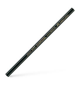 Faber-Castell - Pitt natural charcoal pencil, oil-free, black medium