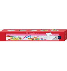 Faber-Castell - Banner roll with pony farm motifs, self-adhesive