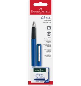Faber-Castell - Fountain School+ blue