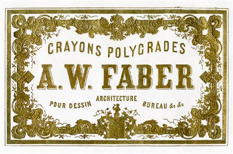 The name A.W. Faber is entered in the US Register of Companies